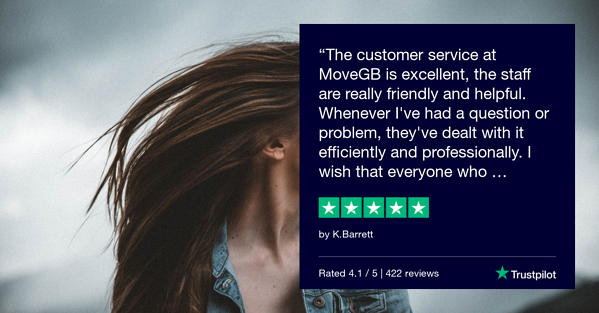 Trustpilot Review - K.Barrett